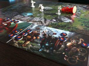tableros de los juegos de mesa - Drako - Ludolaguna