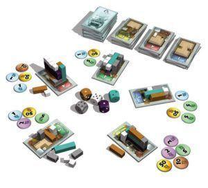 tablero de los juegos de mesa - Ludolaguna