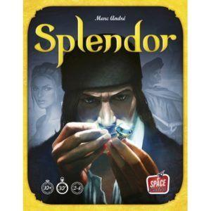 Portada de los juegos de mesa - splendor - Ludolaguna