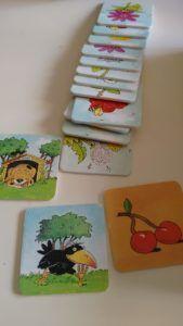 El Frutalito de Haba - tres tipos de tarjetas