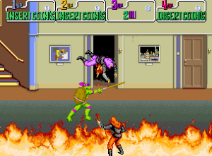 Tortugas ninja en recreativas