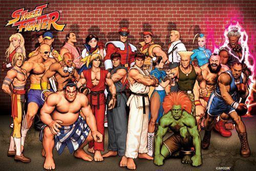 Jugar al Street Fighter, otro gran vicio