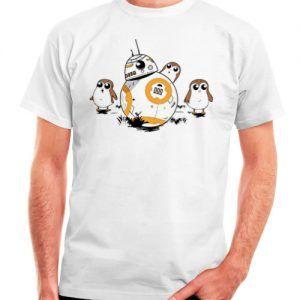 camiseta porgs