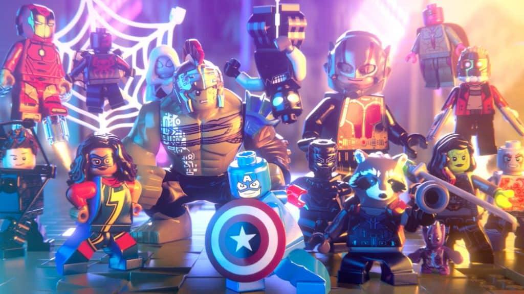 Lego Marvel - mejores juegos para niños de ps4 de 2017