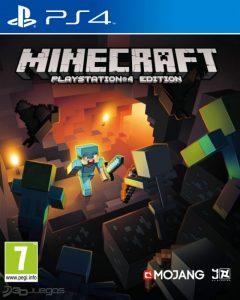 Minecraft - mejores juegos para niños de ps4 de 2017