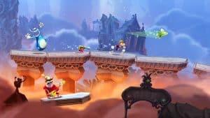 Rayman Legends - mejores juegos para niños de ps4 de 2017