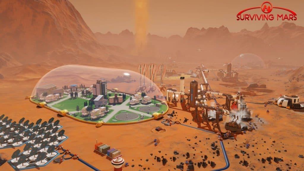 Mejores juegos Ps4 de 2018 para niños a partir de 7 años - Surviving Mars