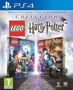 los mejores juegos de ps4 para niños Lego Harry Potter