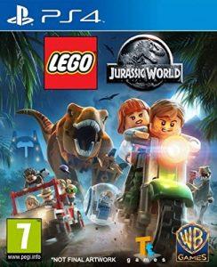 los mejores juegos de ps4 para niños Lego Jurassic Park