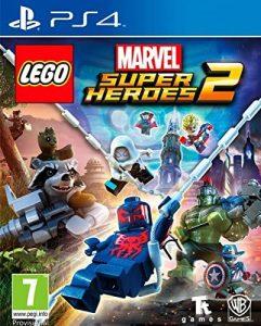 los mejores juegos de ps4 para niños Lego Marvel 2