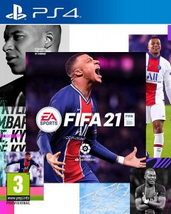 los mejores juegos de ps4 para niños Fifa 21